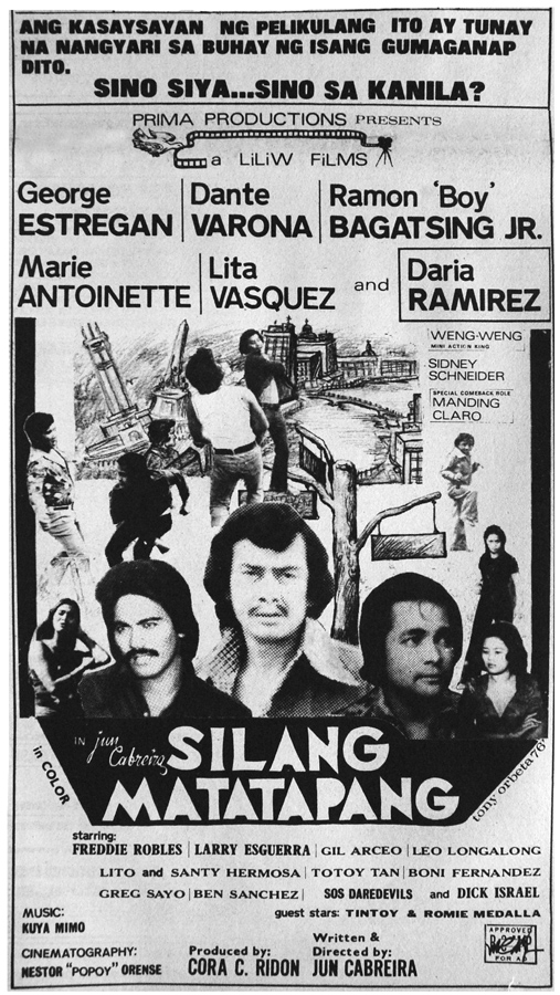 "1976 ? Silang Matatapang/""They The Brave"" (Liliw Films/Prima Productions)"